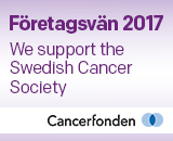 Idus support the Swedish Cancer Society