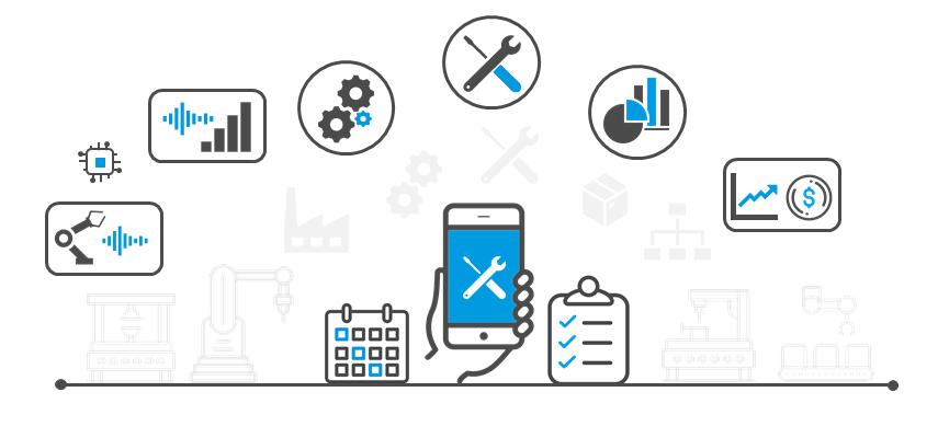 IoT Industri 4.0 Idus Underhållssystem