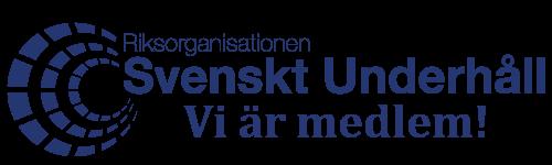 Vi är medlemmar i svenskt underhåll